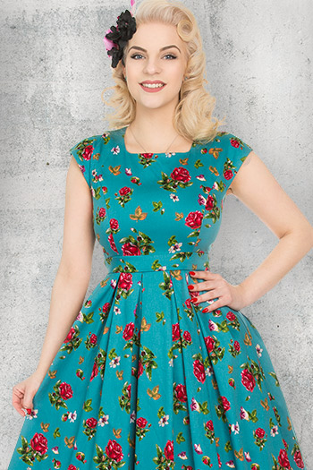 750f6c0e2e2c Vintage Dresses | 1950's Style Made in the UK | Sizes 8-28