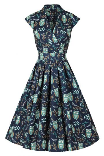 Eva Dress - Hooting Owl
