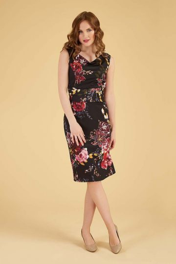 Jocelyn Dress - Bahama Night