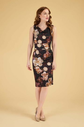 Jocelyn Dress - Caramel Lunaria