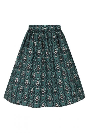 Skirt - Baroque Teal