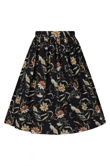 Skirt - Black Bird
