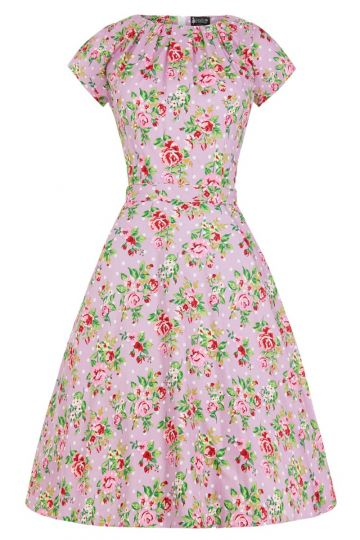 Day Dress - Lilac Floral