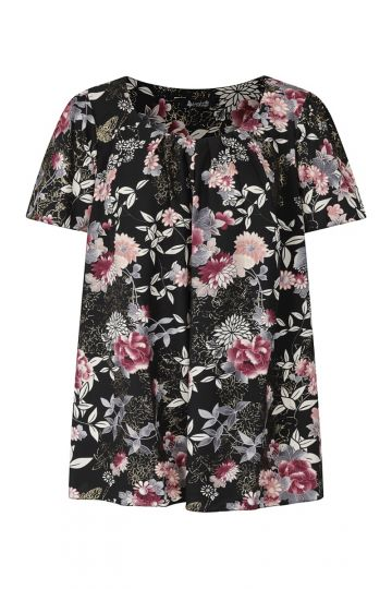 Top - Winter Floral