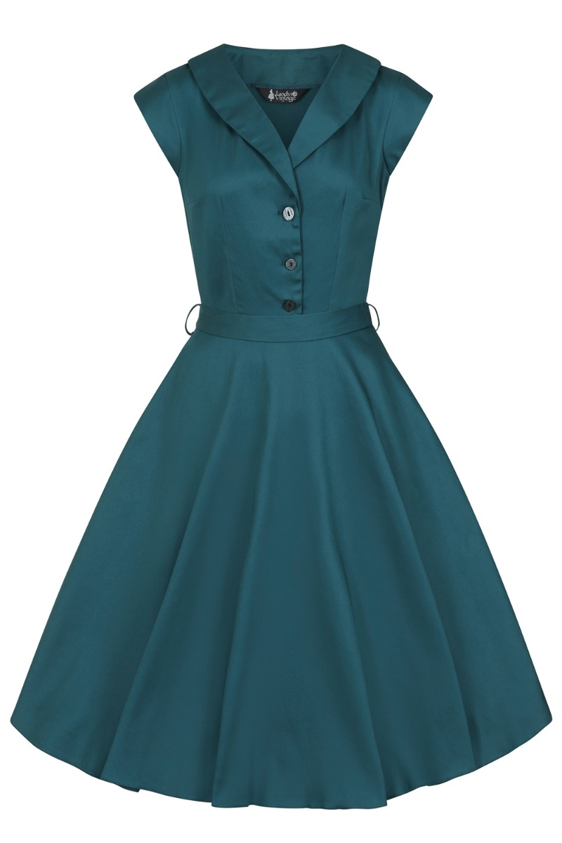 1950s Style Clothing & Fashion Lady V London Meditteranean £55.00 AT vintagedancer.com